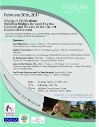 flyers forum forum on the hizmet gulen movement pacifica institute bay area