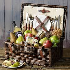Kitchen Gift Basket Giveaway Summer Picnic Basket From The Fruit Company Steamy