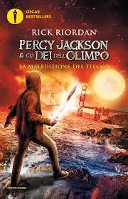 La maledizione del titano. Percy Jackson e gli dei dell'Olimpo: 3:  Amazon.it: Riordan, Rick, Baldinucci, L.: Libri