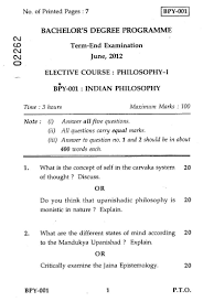 n philosophy part i social work philosophy n philosophy part i 2012 social work philosophy bachelor university exam indira gandhi national open university ignou shaalaa com