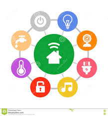 how to design a smart home. Smart Home System Icons Set Flat Design Style Stock Vector - Illustration Of Computer, Device: 52695904 How To A
