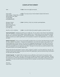 Cover Letter Format Creating An Executive Samples Within 23