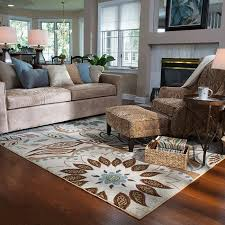 how to choose an area rug what size area rug for living room