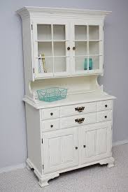 chalk paint hutch makeover