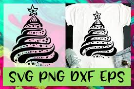 beautiful christmas tree svg png dxf eps design cut file exle image 1