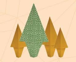 Traditional Japanese Origami Fir Tree Quarto Knows Blog