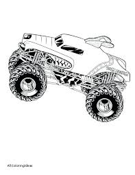 Free Monster Truck Coloring Pages Printable Monster Truck Coloring