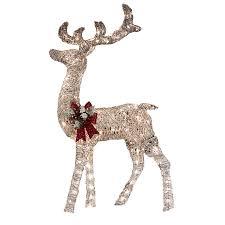 Holiday Living 52 In Lighted Vine Reindeer Outdoor Led Light