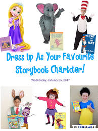 dress up as your favourite storybook character