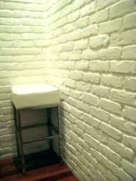 walls ideas on panels fake brick wall