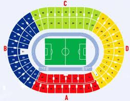 Nsc Olimpiyskiy Stadium Map Olimpiyskiy National Sports