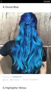 Pin by Ashley Strey on hair   Hair styles, Bold hair color, Hair color blue