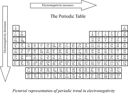 Electronegativity Chart Trend Definition Of Electronegativity Chegg Com