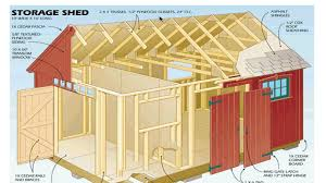 shed plans blueprints how to build a shed with the best blueprints and plans