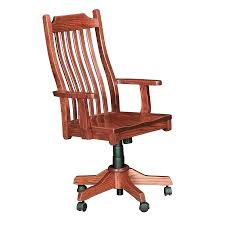 desk chairs oak swivel desk chair mission style office solid oak swivel desk chair mission