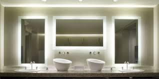 lighting mirrors bathroom. Lighted Bathroom Mirrors Mirror Powder Room With Elegant Lighting
