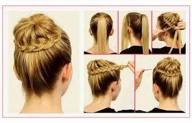 Coiffure Simple Et Rapide Cheveux Mi Long Unique Inspirant