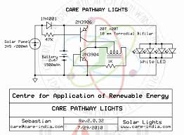 pathway lighting with leds rh electroschematics com solar panel light wiring diagram solar charger circuit diagram