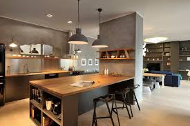 modern french country kitchen decor black wood island furniture