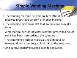 Verilog Vending Machine Cool Vending Machine Controller Using VHDL