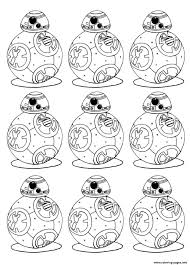 Adult Bb 8 Star Wars 7 The Force Awakens Bb8 Robot Coloring Pages ...