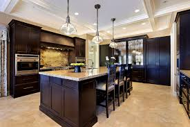in style kitchen cabinets: bathroomcharming kitchen kitchenjpg colors kitchens dark cabinets light granite ideas with wood floors small