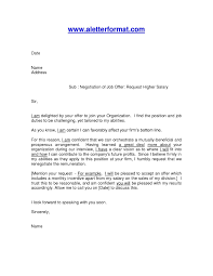 10 Salary Counter Offer Letter Sample Proposal Sample