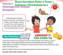 Kunci jawaban buku bahasa sunda kelas 6 halaman 13 guru paud / manfaat hewan bagi kehidupan manusia. Lengkap Kunci Jawaban Kelas 4 Tema 1 Subtema 1 Pembelajaran 1 Kunci Jawaban Tematik Lengkap Terbaru Simplenews