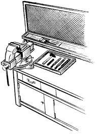 Учебная практика гибка вторые подразделяются на неповоротные и поворотные В этих тисках подвижная губка при вращении винта перемещается оставаясь параллельной