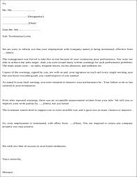 How To Write A Termination Letter To Employee Writing Termination Letters Due To Poor Performance