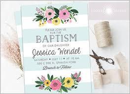 Free Printable Baptism Invitation Templates 27 Baptism Invitation