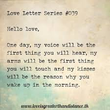 Long Distance Love Letters Samples For Him
