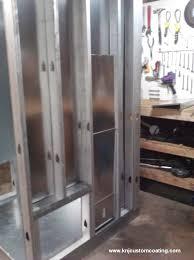 powder coating oven build