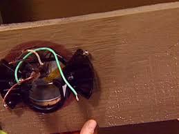 add ceiling fan bracket in place of old light