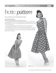 Vintage Style Dress Patterns