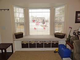 captivating furniture interior decoration window seats. interiorcaptivating bay window design with black wicker storage basket and cream rug idea captivating furniture interior decoration seats w