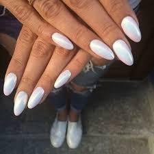 mirror nails. efekt syrenki | indigo nails mirror y