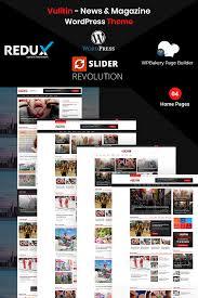 Wordpress Template Newspaper Best News Portal Wordpress Themes 2019 Templatemonster