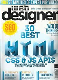 Amazon Single Charts Amazon Com Web Designer Magazine 30 Best Html Css Js