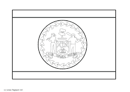 Dominican Republic Coloring Pages This Is Republic Flag Coloring