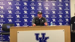 Kentucky Football Depth Chart Mark Stoops Breaks Down Kentucky Football Spring Game