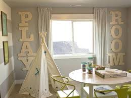 large wood letter decorate with large wall letters craft cuts large wood letters in a playroom