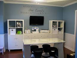 painted office furniture. Office Furniture Quotes Beautiful Adjustable Home Fice Decor Ideas With Blue Painted Wall Bine