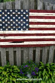 making an american flag from pallet wood