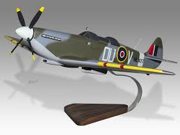 spitfire plane model. the grace spitfire ml407 raf model takes life through this painstakingly hand carved solid \u201crenewable\u201d mahogany wood - 100% made by our highly plane