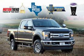 ford truck 2017 super duty. loaded up with awards. the 2017 super duty® ford truck duty