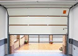 garage door panel installation