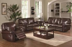 Furniture Brilliant Dark Brown Leather Sofa Decorating Ideas Brown
