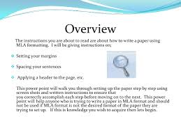 setting up a paper using mla format setting up a paper using mla format<br > 2