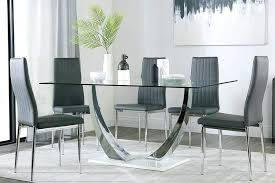 round glass table set glass dining sets glass table setting ideas